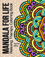 Mandala For Life - Seamless Relaxing Therapy Coloring (PDF Book)