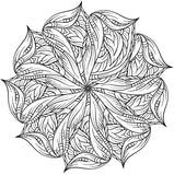 Mandala Stars - Stress Relieving Patterns Coloring Book