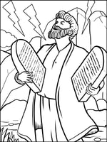 My Passover Coloring Book For Kids - The Haggadah Story To Color