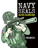 Navy Seals Coloring Book - Military Action Coloring Rachel Mintz