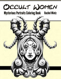 Occult Women - Mysterious Portraits Beautiful Witchcraft Coloring Book