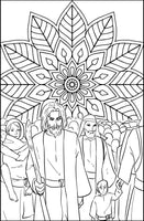 Mandala Passover Coloring Book For Adults