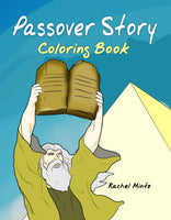 Passover Story Coloring Book for Pesach - Rachel Mintz