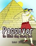 Passover Coloring Book + The Biblical Story