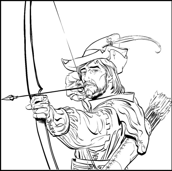 robin hood - medieval archery, middle ages figures in pop