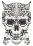 Skulls Yard - Greyscale Tattoos Designs Coloring (PDF Book) For Adults