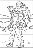 U.S. Marines Coloring Book - Oorah! American Soldiers In Military Action (PDF Book)