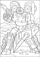 War Robots - Coloring (PDF Book) For Boys - Military Cyborgs & Futuristic Action
