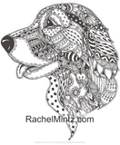 Mandala Dogs Coloring Book - Relaxing Cute Ornamental Dog Breeds