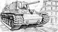 Main Battle Tanks - Coloring (PDF Book) For Teens & Adults