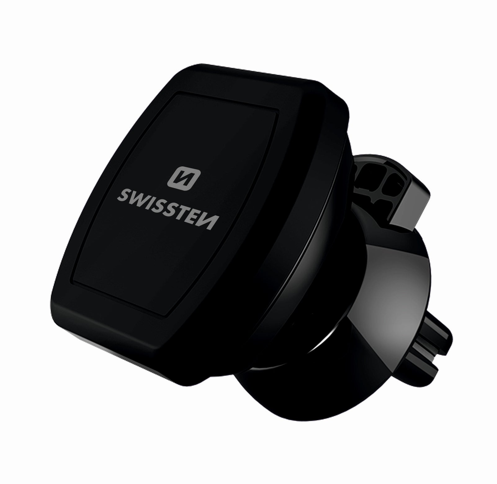 Swissten Air Vent Clip with S-Grip Magnetic SmartPhone Holder (M3 BLACK)