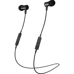 Bluetooth Wireless Magnetic Noise-isolating In-ear Headphone, Satin Black