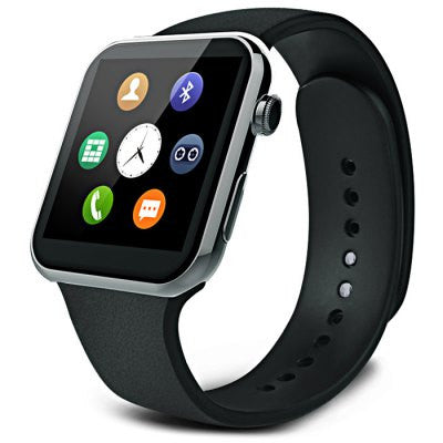 Bluetooth 4.0 SmartWatch Dialer, SMS, Heart Rate, Sleep Monitor, Sport Tracking, Music, Remote, Camera, Find Phone