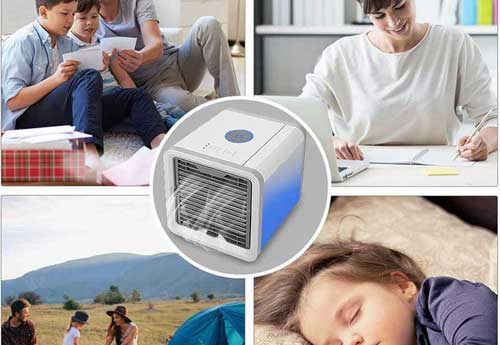 CoolAir - helps you relax in the heat!