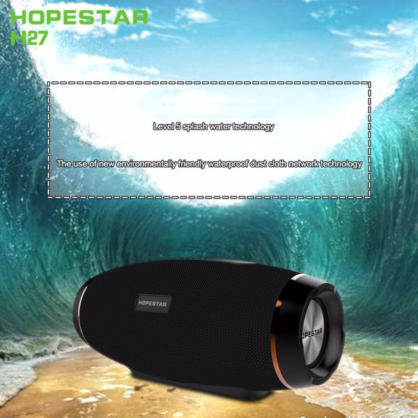 Bluetooth Olive Shape Speaker with FM Transmitter, Waterproof Power Bank and Support 1+1 Wireless Bluetooth & Memory Cards