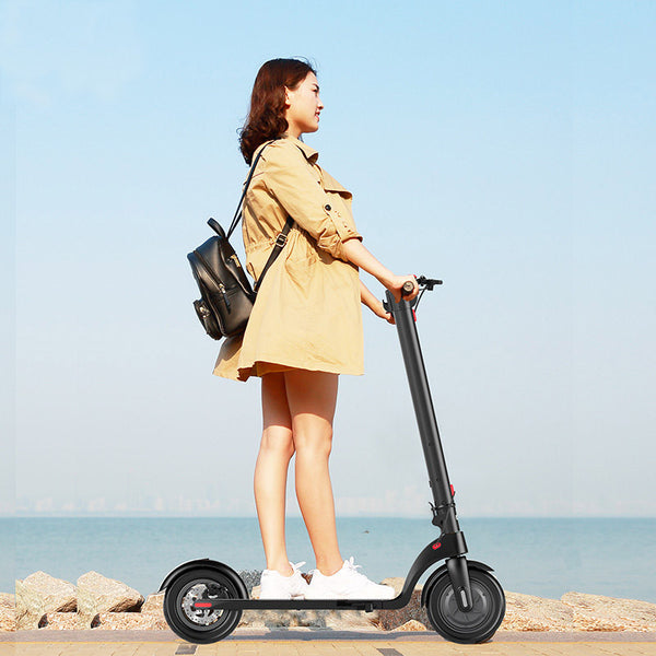 eScooter 8.5 inch - Adult Electric Wheel Scooter, Removable Lithium Battery 36V, 250W Motor and easily folding frame