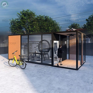 Exclusive Mobile Office Showroom for product workshops