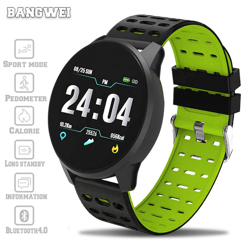 2019 Waterproff SmartWatch with Blood Pressure, Heart Rate, Sports Activity & Fitness Tracker for Android & iPhone