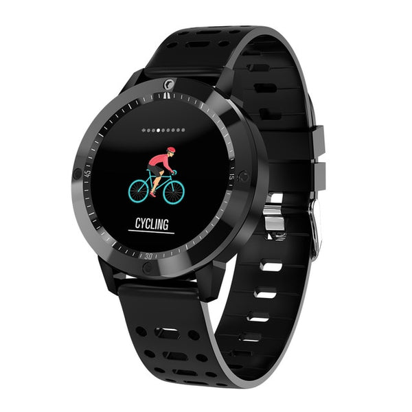 "1.3"" SENBONO IP67 Waterproof Smartwatch with Tempered glass, Activity Fitness tracker, Heart rate monitor, Sports Men & women Wristband"