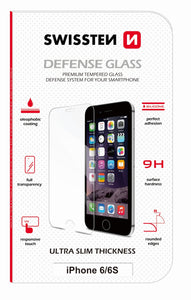 Swissten Premium Ultra Slim Transparent Glass Defence for iPhone 7/8