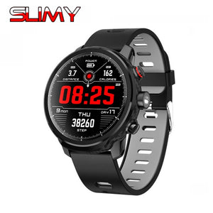 "1.3"" Slimy IP68 Waterproof Swimming SmartWatch with Standby for 100 Days , Led Lighting, Message & Call Reminder"