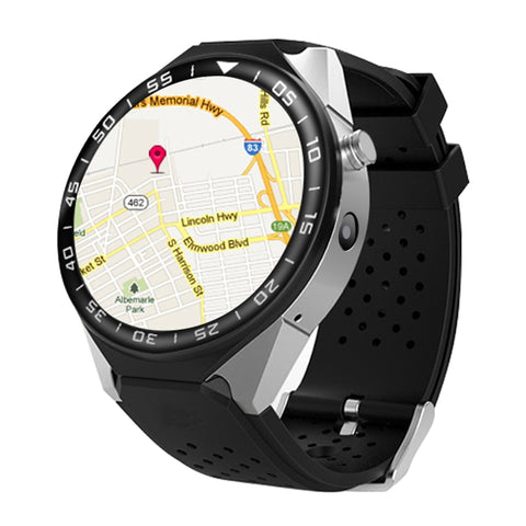 2019 Android Bluetooth SmartWatch for Google Apps with Google Maps GPS, Heart Rate Sensor, Pedometer Fitness Tracker, Whatsapp, Skype, Twitter, etc.