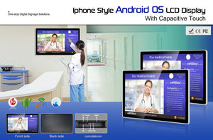 "All-in-One 10 - 98"" Android OS display with Capacitive Touchscreen"