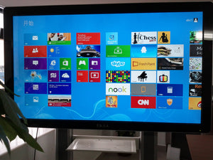 "All-in-One 98"" Touchscreen 4K HDTV SmartBoard with Windows 10 for Video Meeting, Business, Design & Education"