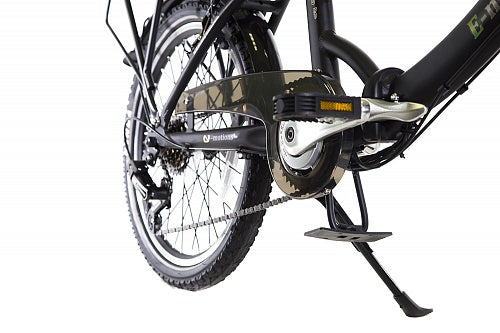 "eMotion 26"" CityKing2 Black Folding Bike, 250W - 6 speeds"