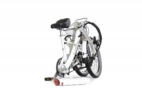 "eMotion 26"" CityKing2 White Folding Bike, 250W - 6 speeds"