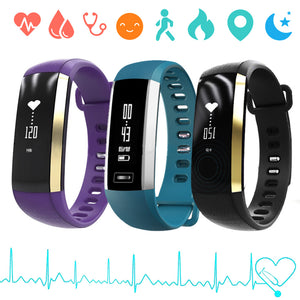 "0.86"" Centechia SmartWatch Fitness Tracker, Heart Rate Pulse Sensor Wristband Bracelet for Android & iPhone"