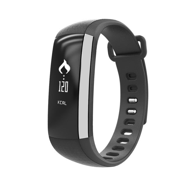 "0.86"" New SmartWatch Fitness Tracker, Cardiaco Blood Pressure & Heart Pulse Wristband Bracelet Sensor for Android & iPhone"
