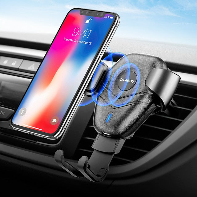 Ugreen Qi Gravity Wireless Charger and car holder for Android and iPhones
