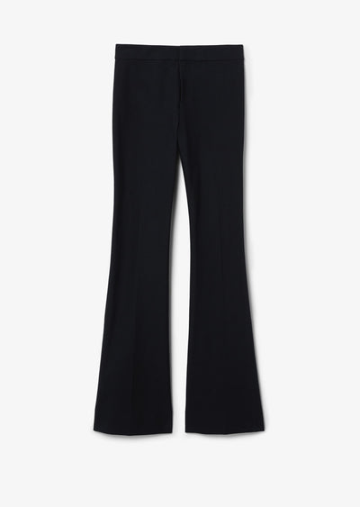Black Crosby Flare Trouser - Womens Pants by Derek Lam