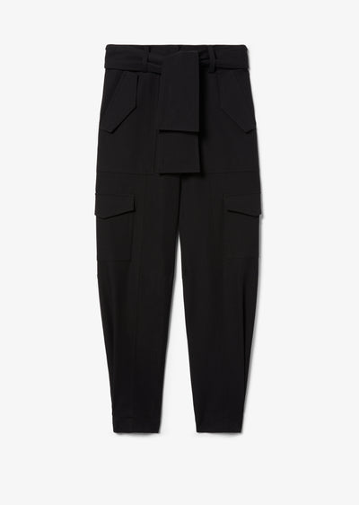 Black Elian Utility Pant - Womens Pants by Derek Lam