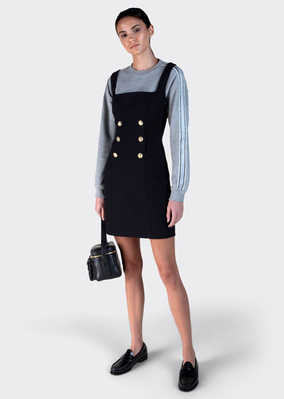 Black Miley Double Breasted Mini Dress - Womens Dress by Derek Lam