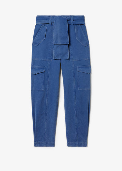 Blue Elian Utility Pant - Womens Pants by Derek Lam