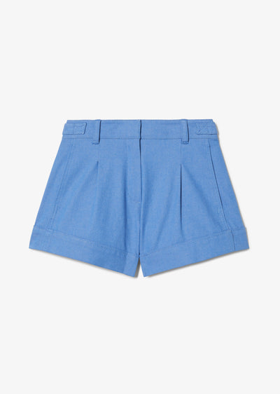 Blue Mari A-Line Short - Womens Shorts by Derek Lam