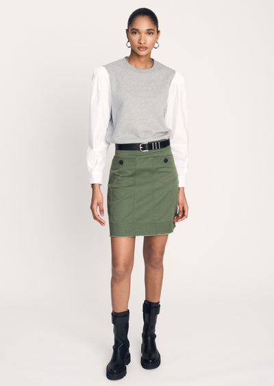 Fatigue Dany Utility Skirt - Women's Skirt by Derek Lam