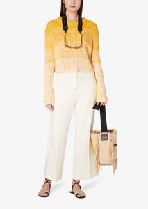 Maize Ema Culotte With Tuxedo Stripe - Womens Pants by Derek Lam