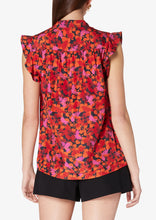 Load image into Gallery viewer, Midnight Kona Sleeveless Pintuck Top - Womens Top by Derek Lam
