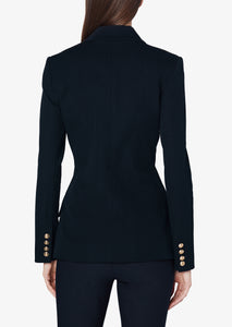 Midnight Rodeo Double Breasted Blazer - Womens Jacket by Derek Lam