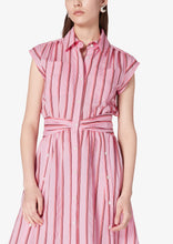 Load image into Gallery viewer, Pink Cora Shirt Dress - Womens Dress by Derek Lam