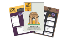 Load image into Gallery viewer, Set of 6 Workbooks (Delhi, Kerala, London,  Paris, Singapore & UAE) [Printed Worksheets]