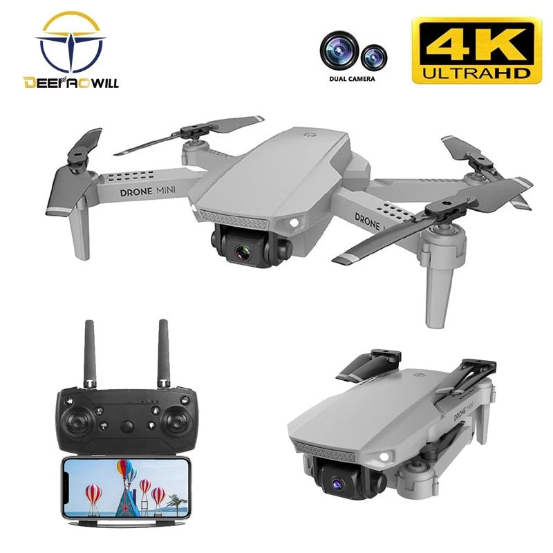 E88 4k Dual Camera Quadcopter