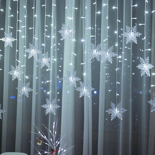Snowflake LED Curtain