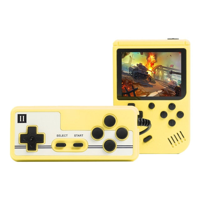 8-Bit Retro Game Player