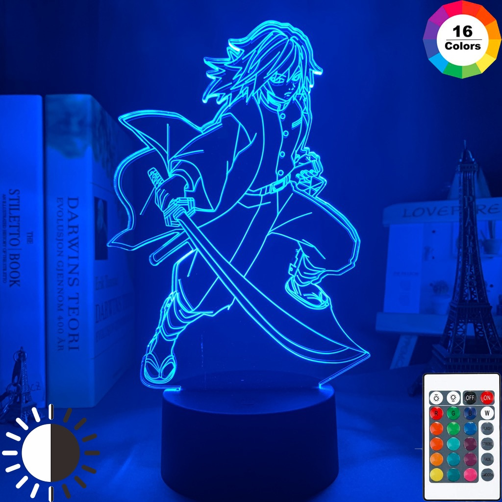 Demon Slayer Tomioka Giyuu LED Lamp