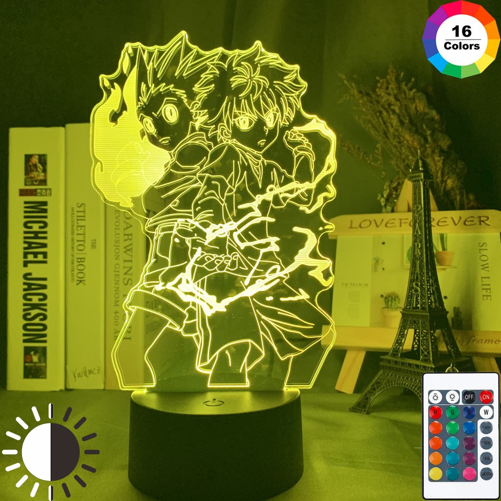 HUNTER x HUNTER Gon and Killua LED Lamp