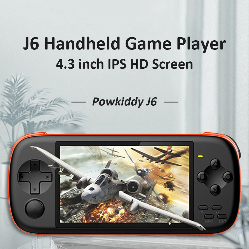 TJ6 Handheld Game Console